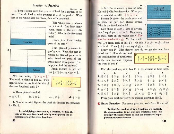 fraction of fraction